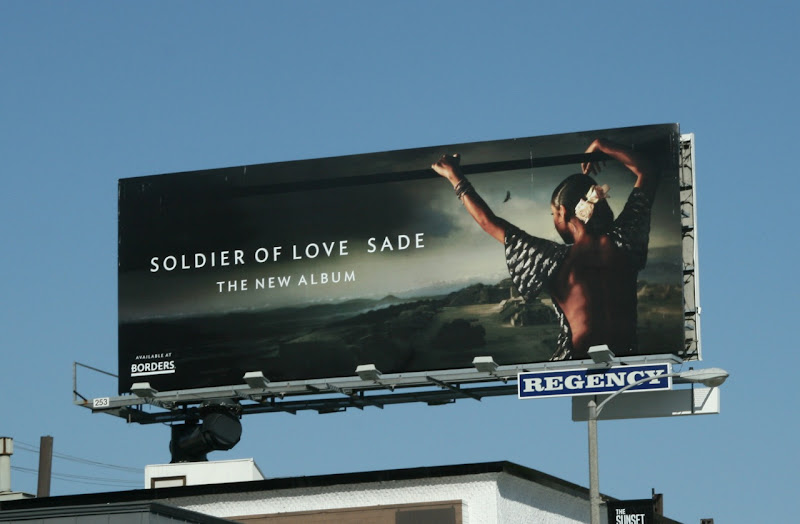 Sade Soldier of Love music billboard