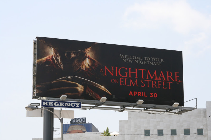 A Nightmare on Elm Street 2010 movie billboard