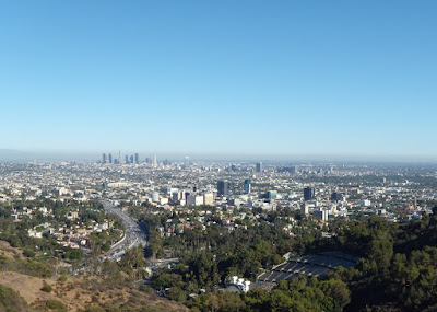 Los Angeles basin view in Summer