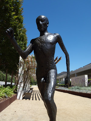 Elisabeth Frink Running Man sculpture
