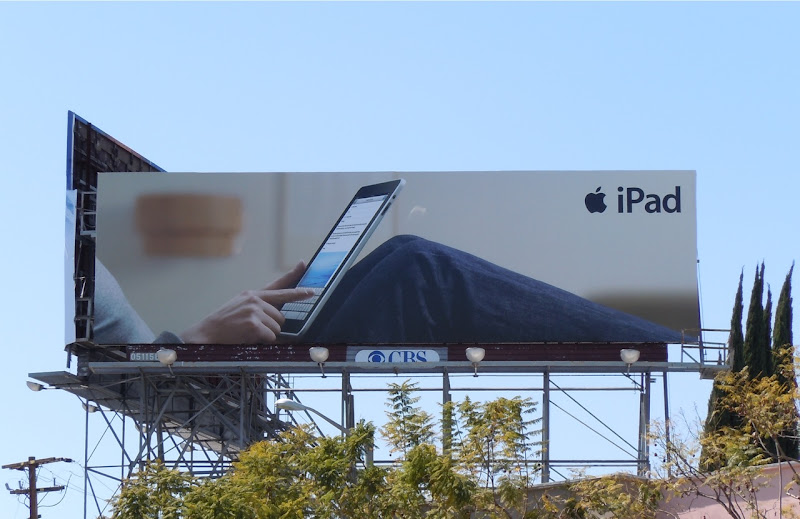 Apple iPad billboard WEHO