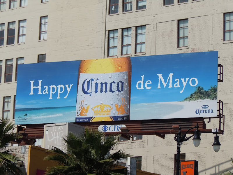 Corona Happy Cinco de Mayo billboard