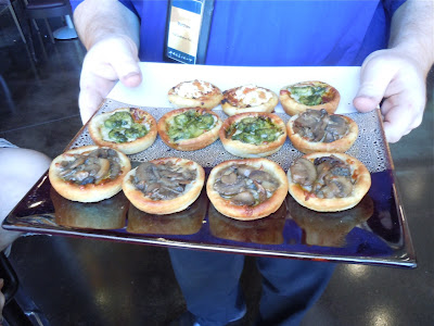 Canapes at ArcLight Pasadena