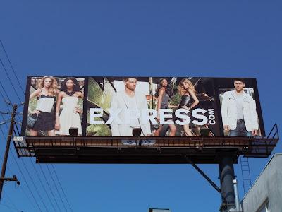 Express April 2010 fashion billboard
