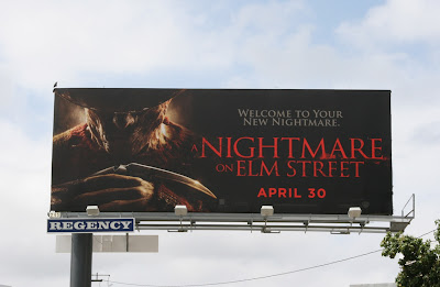 A Nightmare on Elm Street film billboard
