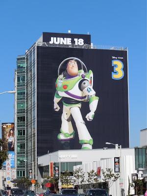 Buzz Lightyear Toy Story 3 billboard