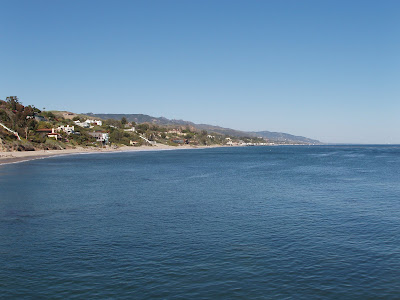 View from the Pier at Paradise Cove