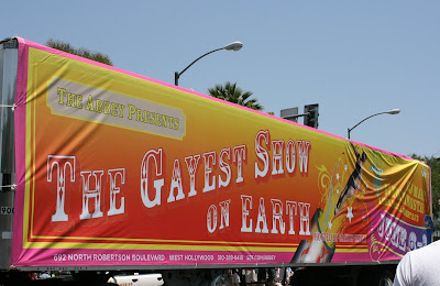 LA Pride in West Hollywood - the Gayest Show on Earth!