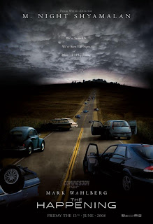 The Happening teaser movie poster
