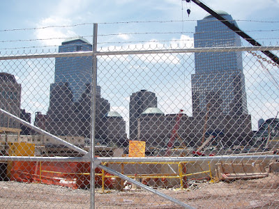 The World Trade Center construction site New York