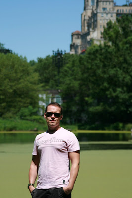 Jason at the Turtle Pond in Central Park NYC