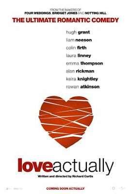 Love actually heart movie poster