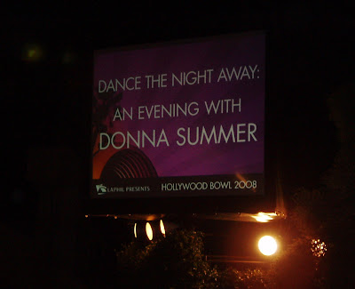 Dance the night away with Donna Summer in concert at The Hollywood Bowl, 23 August 2008