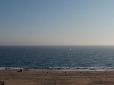 The Pacific Ocean at Santa Monica