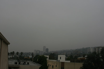 Dreary L.A. morning