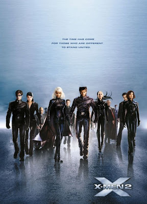 X-Men 2 movie poster