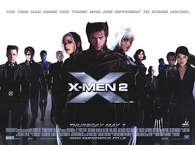 X-Men 2 movie poster