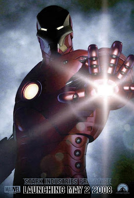 Iron Man teaser movie poster