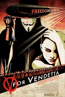 V for Vendetta film poster