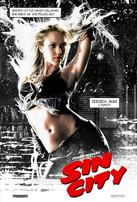 Sin City poster - Jessica Alba as Nancy