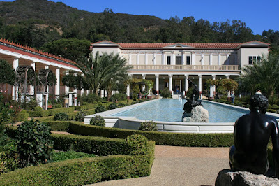 Outer Peristyle The Getty Villa