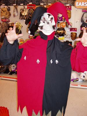 Evil Halloween Jester