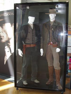 Appaloosa film costumes on display
