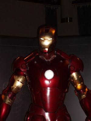 Iron Man suit close up