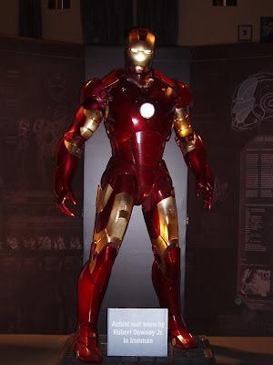 Robert Downey Jr Iron Man suit