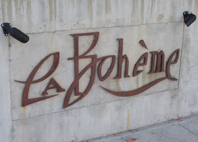 Cafe La Boheme on Santa Monica Blvd