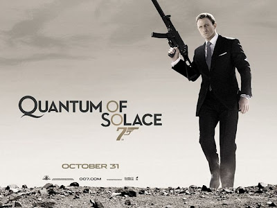 Quantum of Solace UK movie poster