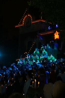 Disneyland California Candlelight Ceremony