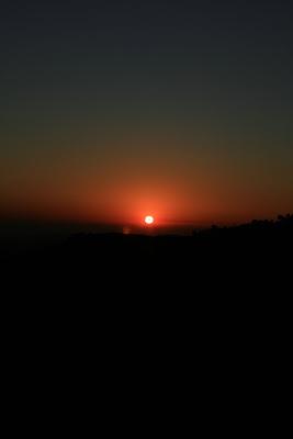 Runyon Canyon sunset