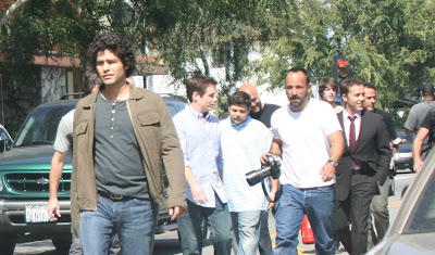 Adrian Grenier, Jeremy Piven and the cast of Entourage