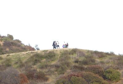 Filming at Runyon Canyon