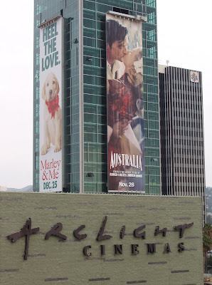 Australia and Marley & Me billboards at ArcLight Hollywood