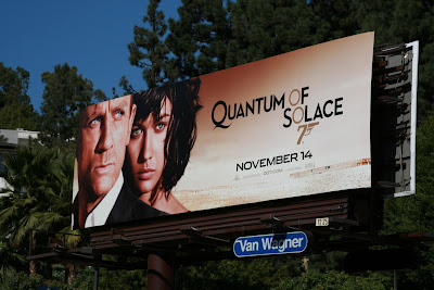 Bond Quantum of Solace billboard