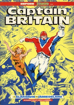 Captain Britain Graphic Novel cover