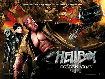 Hellboy 2 - The Golden Army movie poster
