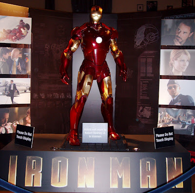 Iron Man suit as worn by Robert Downey Jr in the film