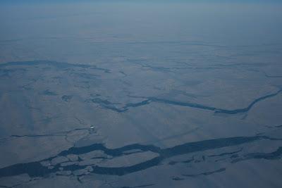 Stunning frozen Greenland
