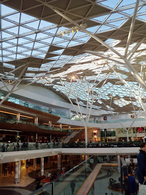 New Westfield shopping centre in Shepherds Bush