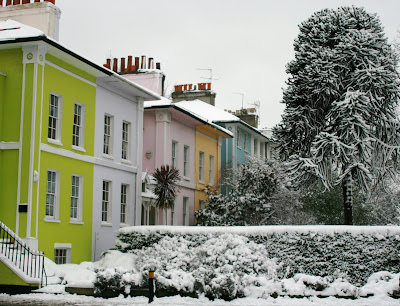 Chiswick in snow