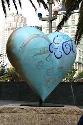 Keiko Nelson Heart & Heart, San Francisco sculpture