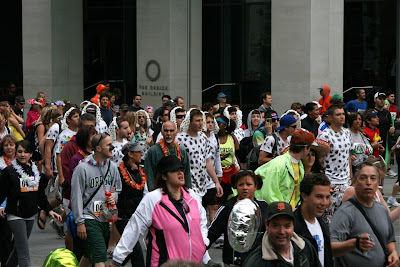 Dalmatians Bay to Breakers 2010
