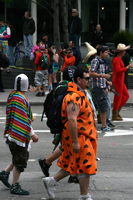 Fred Flintstone Bay to Breakers 2010