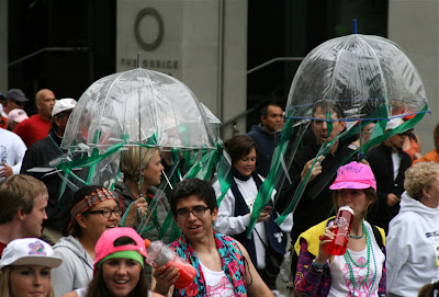 Umbrellas Bay to Breakers 2010