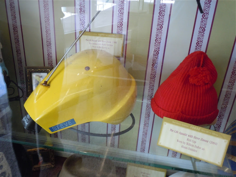 Life Aquatic movie helmet and hat