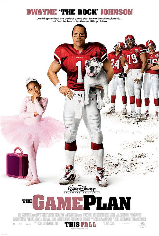 The Game Plan Poster The Game Plan Movie Poster