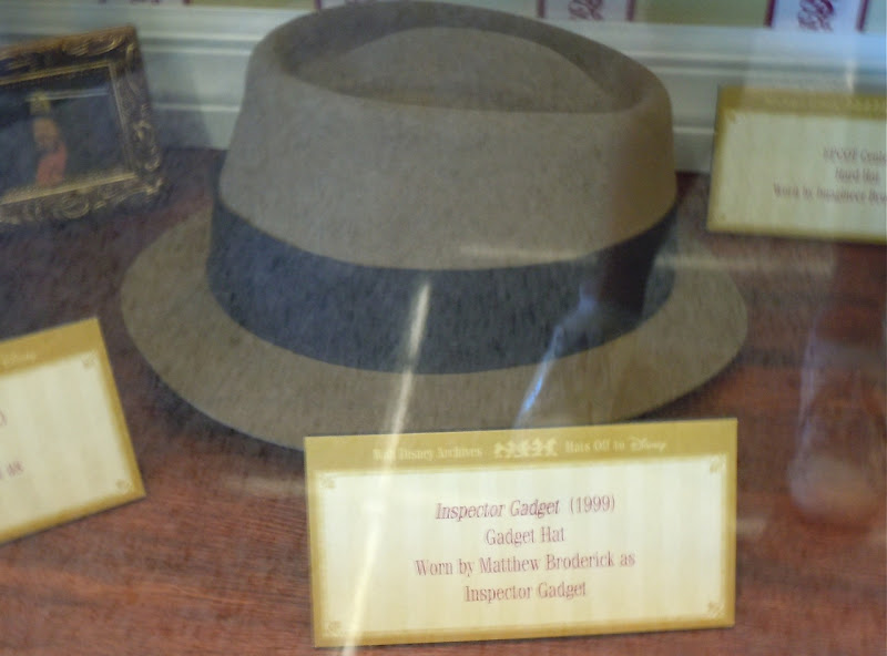 Matthew Broderick's Inspector Gadget movie hat